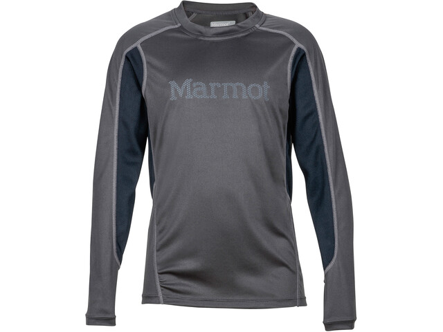 Marmot Windridge T-shirt à manches longues Garçon, slate grey/black